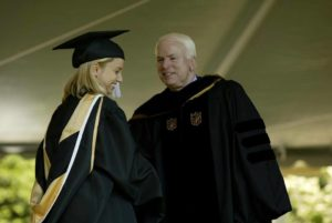 John McCain at the 2002 Commencement