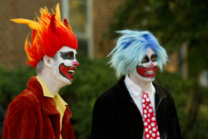 WFU students host local schoolchildren for Halloween tricks and treats at the annual Project Pumpkin, on the Quad.