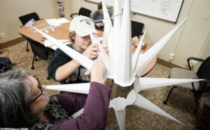 making of the new moravian star