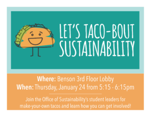 Tacos and Sustainability
