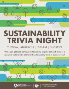 Sustainability trivia night