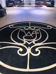 WF rug provides a feeling of being at home at the Wake Washington Center