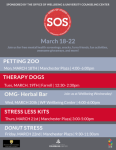 Signs of Stress (SOS) week events