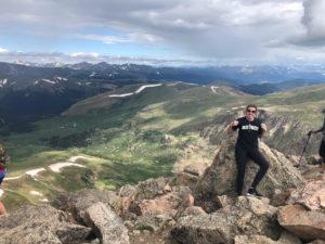 '23 Deac on top of Mt Bierstadt a 14er here in Colorado