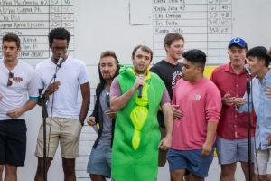 Singing groups perform at Hit the Bricks
