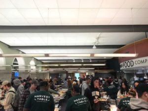 Pitsgiving buffet line