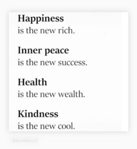 happiness is the new rich graphic