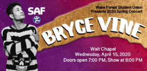 Student Union Spring Concert - Bryce Vine