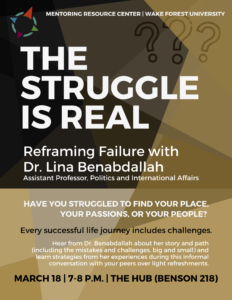 workshop on Reframing Failure