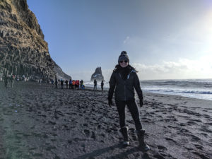 Riley Mistrot ('19) in Iceland