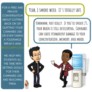There's a $60B cannabis industry in North America working hard to convince you that weed is not only safe but beneficial. That couldn't be farther from the truth for those of us whose brains are still developing.