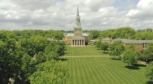 View of the Quad from the Quad Cam 4/30/20