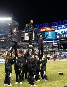 Wake Forest Demon Deacons take on Michigan State Spartans in the New Era Pinstripe Bowl at Yankee Stadium on Friday, December 27, 2019.