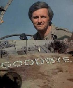 goodbye scene from M*A*S*H