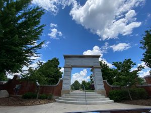 the Arch on the Quad