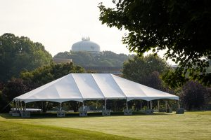 Tent on Poteat Field