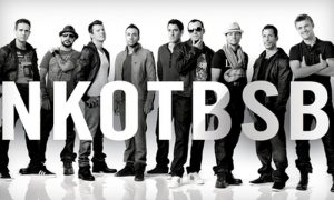 New Kids on the Block and Backstreet Boys concert promo