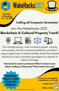 Wake Hacks flyer