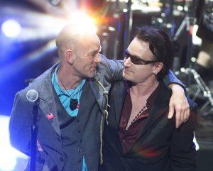 Bono and Michael Stipe
