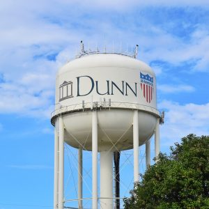 Dunn, NC water tower