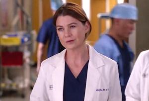 Meredith Grey on Grey's Anatomy