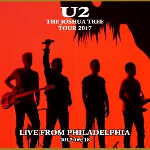 poster of the 2017 U2 concert in Phili