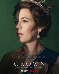 poster for the tv show The Crown