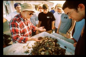 WFU biology field trip to the Duke marine lab in Beaufort, NC, November, 2001. (WFU/Ken Bennett)