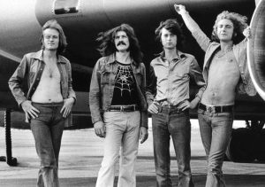 The British band Led Zeppelin