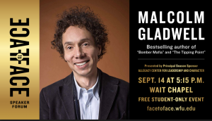 Malcolm Gladwell student event