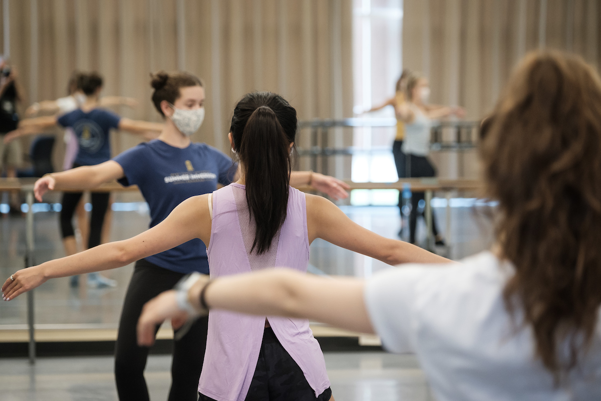 Thirty-five students and dance faculty created this video tribute to their choreographic concert that was originally planned for spring 2020