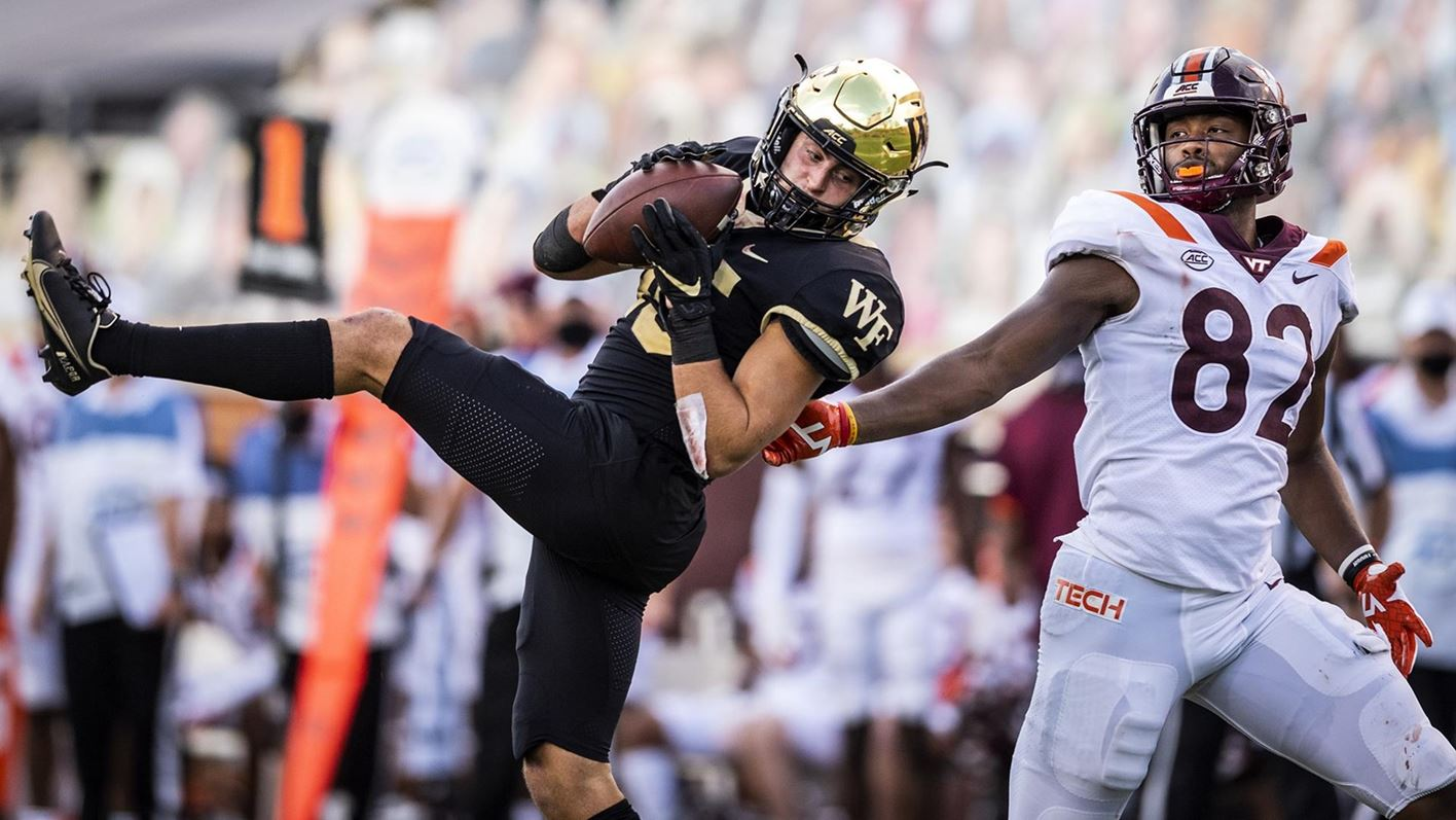 Video recap of the Deacons' victory over the Hokies