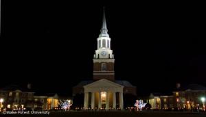 Holiday scene, Wait Chapel