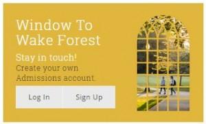 Window To Wake Forest