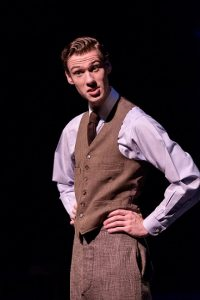 Philip Kayser and the Wake Forest Theatre performs the final dress rehearsal of Our Town, by Thornton Wilder, on the Main Stage Theatre on Thursday, September 17, 2015.