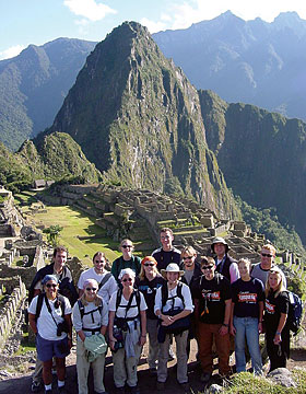 Wake Forest in Peru
