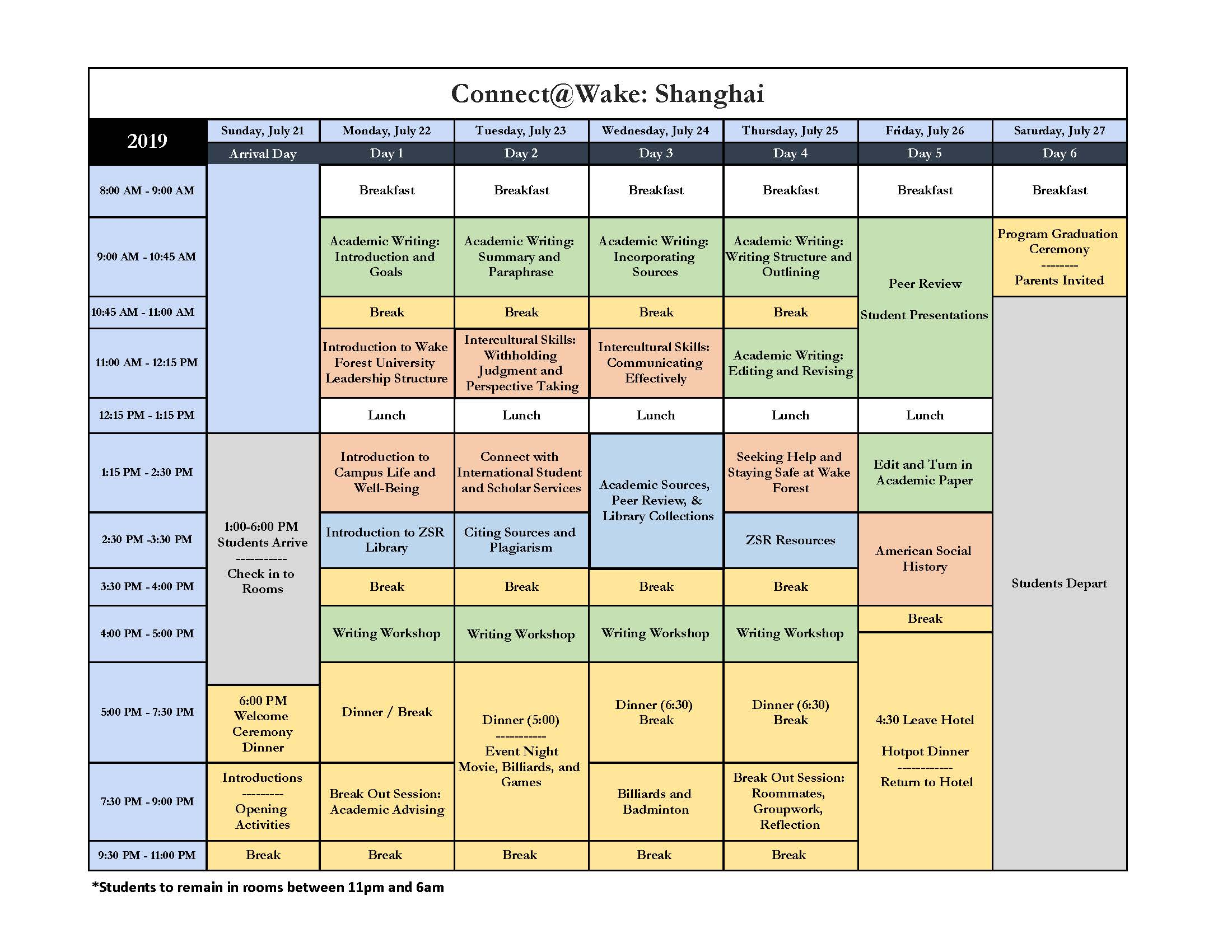CWS Course Schedule 7 11 19 FINAL