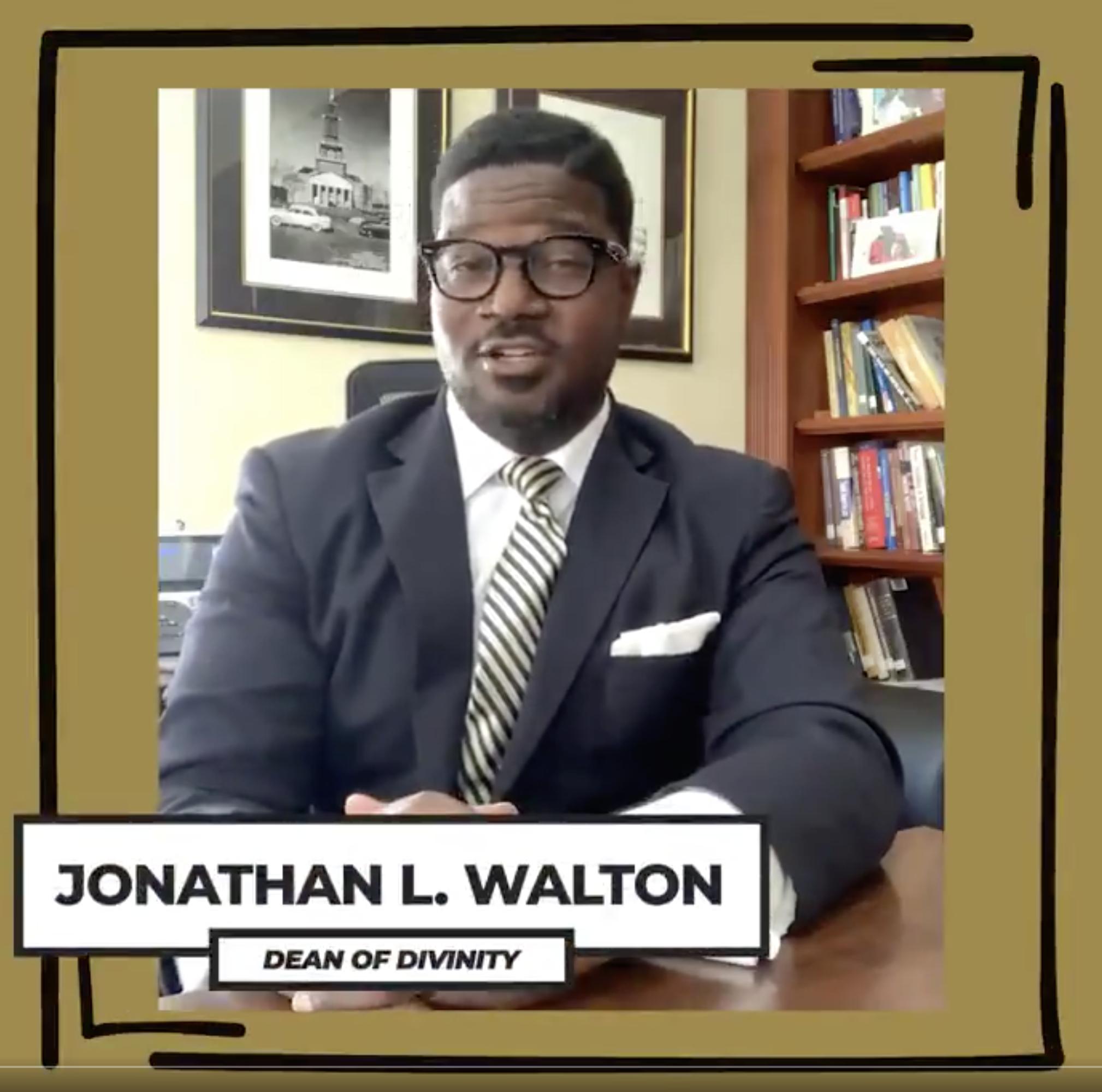 Dean Jonathan L. Walton