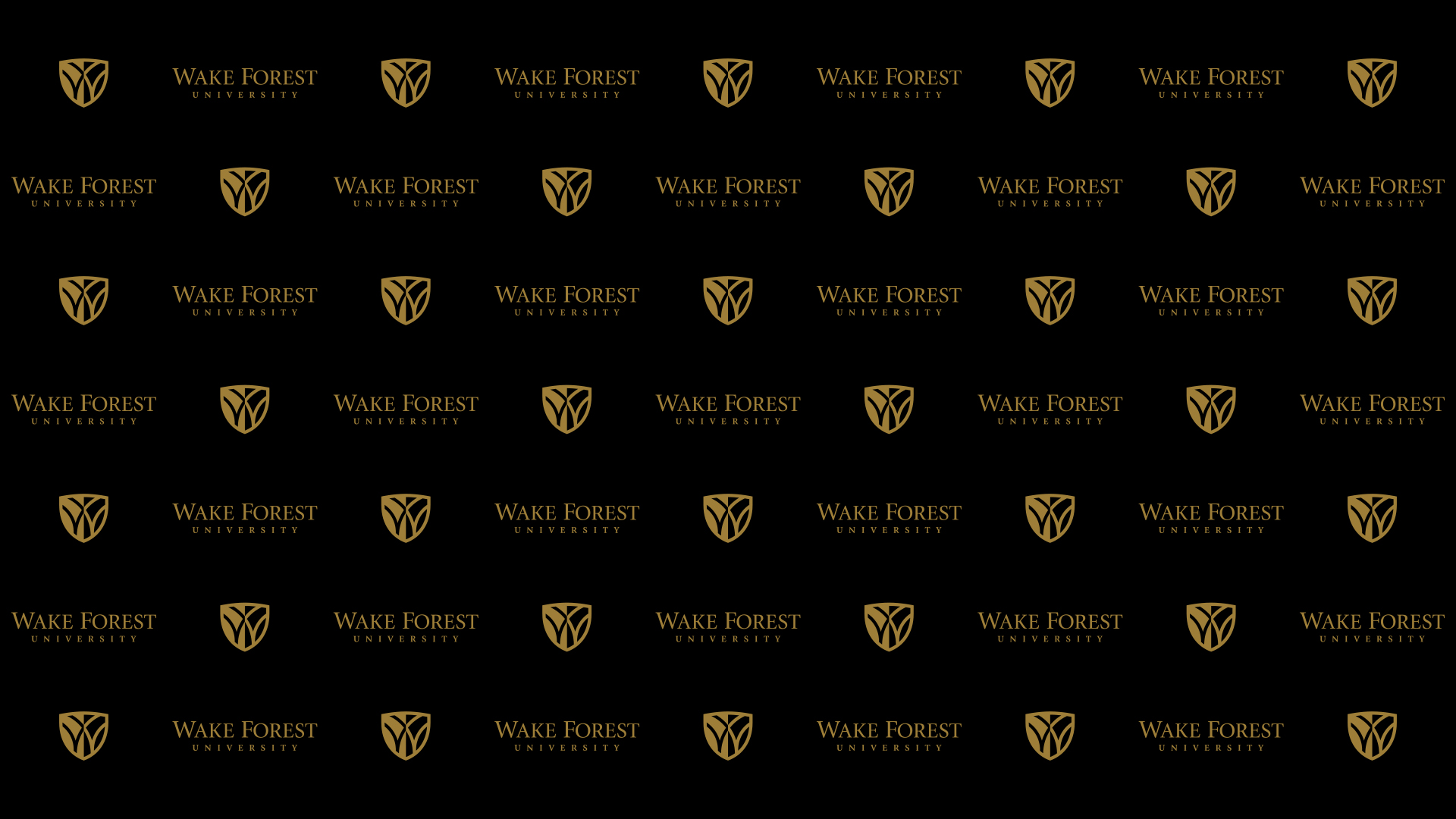 Downloadable Backgrounds Commencement 2021 Wake Forest University