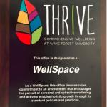 WellSpace Plaque