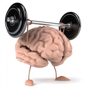 Brain lifting Weights