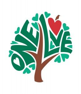 One Love Tree Graphic