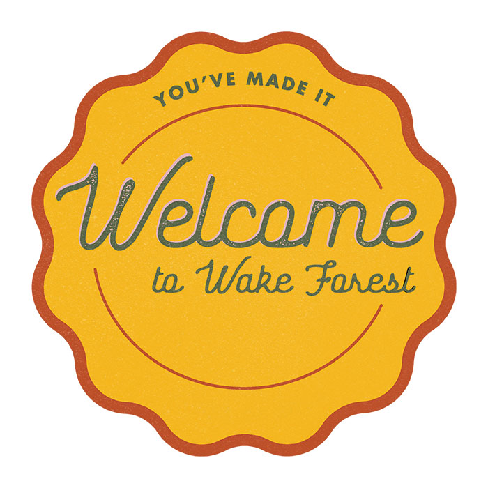 Welcome to Wake Forest Badge