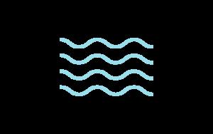 Icon of wavy lines