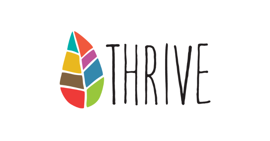 Banner with Thrive logo