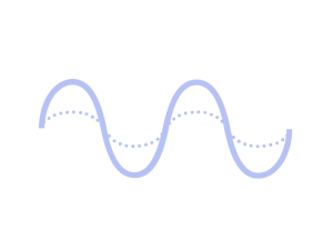 Icon of calming wave