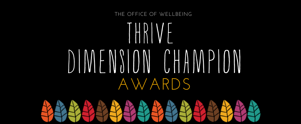 thrive dimension champion awards