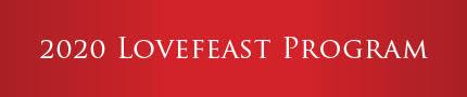 2020 Lovefeast Program