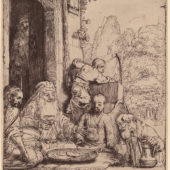 Image of Rembrandt's - Abraham Entertaining Angels