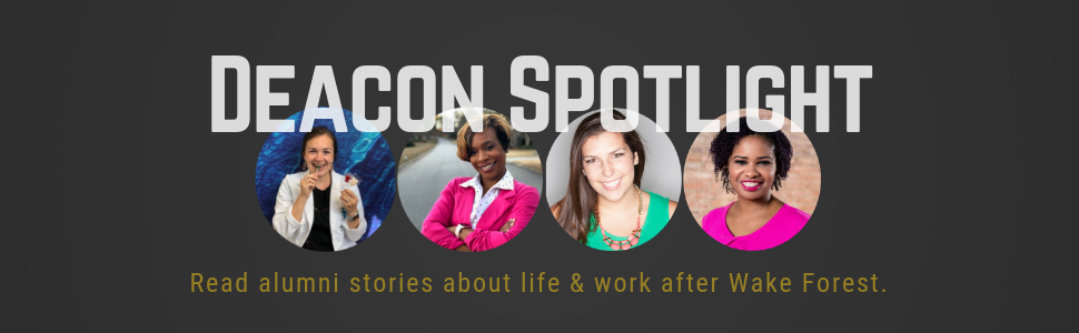 Deacon Spotlight Feature: read alumni stories!